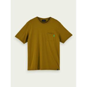 Scotch & Soda 100% cotton short sleeve pocket t-shirt 156807