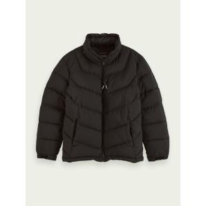 SCOTCH & SODA Mid-length padded jacket 158288