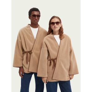 Scotch & Soda Sherpa kimono jacket