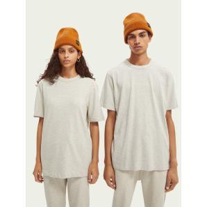SCOTCH & SODA Unisex graphic organic cotton T-shirt