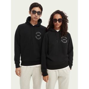 SCOTCH & SODA Unisex gaphic hoodie