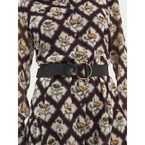 SCOTCH & SODA Leather waist belt 160019
