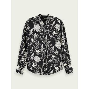 SCOTCH & SODA Button-down printed shirt 162161