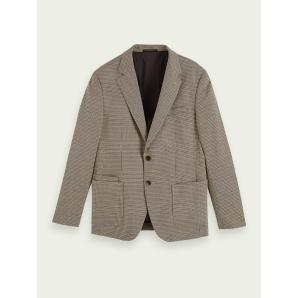 SCOTCH & SODA Single-breasted structured blazer 158327