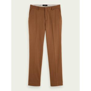 SCOTCH & SODA Relaxed wool-blend chino 158375