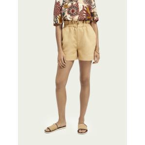 SOTCH & SODA Elasticated linen shorts 161596