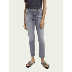 SCOTCH & SODA The Keeper recycled cotton-blend jeans - Pop Of Smoke 159861