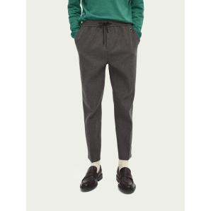 SCOTCH & SODA Fave tapered fit wool-blend trousers 158397