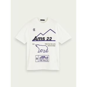 SCOTCH & SODA Artwork short sleeve t-shirt 158522