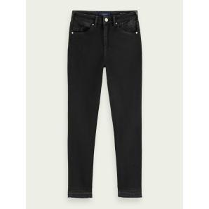 SCOTCH & SODA Haut - Elegant Black  High-rise skinny fit jeans 156976-3753
