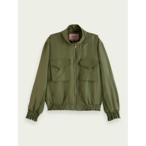SCOTCH & SODA In-between linen-blend jacket 161653