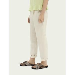 SCOTCH & SODA Tailored linen-blend jogger 161569
