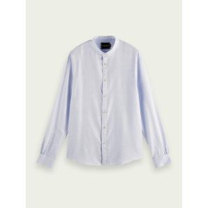 SCOTCH & SODA Lightweight structured cotton shirt 160774