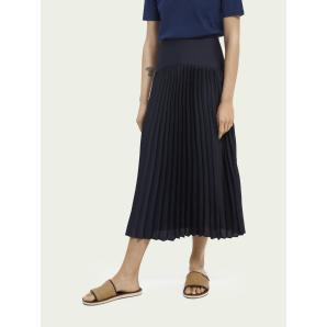 SCOTCH & SODA Pleated maxi skirt 161606