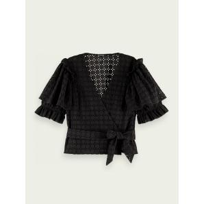 SCOTCH & SODA Broderie Anglaise top 162129