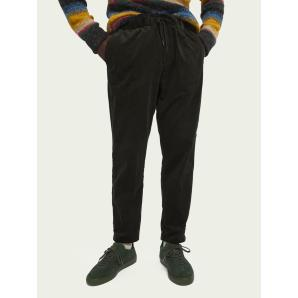 SCOTCH & SODA Fave tapered fit cotton corduroy trousers 158396