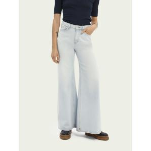 SCOTCH & SODA Wide legged jeans — Sky Spirit 163919