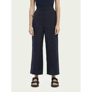 SCOTCH & SODA Animal print jacquard jogger trousers 161555