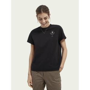SCOTCH & SODA Graphic relaxed-fit T-shirt 161709
