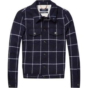 Scotch & soda wool trucker jacket 144498
