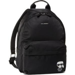 Karl lagerfeld k/ikonik nylon and leather  backpack