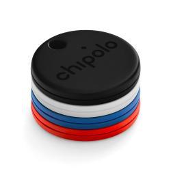 Chipolo One Item Finder 4Pack, Tracker, Μπρελόκ ανίχνευσης αντικειμένων Λευκό, Μαύρο, Μπλέ, Κόκκινο