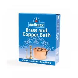 Καθαριστικό μπρούτζινων και χάλκινων αντικειμένων, Antiquax Brass & Copper Bath,  3x50gr