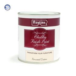 Χρώμα Κιμωλίας, Rustins Chalky finish paint, Kenwood Cream, ματ, 250 ml
