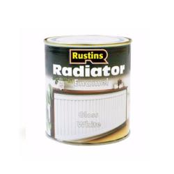 Χρώμα για καλοριφέρ, Rustins Radiator Paint Gloss, λευκό, γυαλιστερό, 250ml