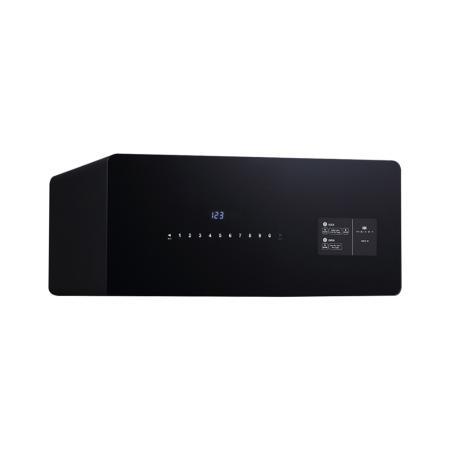 Κομψό Χρηματοκιβώτιο συρτάρι, Nskey NS Dot DR με μαύρο γυαλί - 20,0 x 45,0 x 40,0 cm