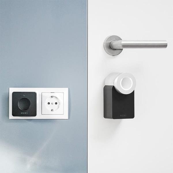 COMBO (Nuki Smart Lock 2.0 - Έξυπνη κλειδαριά + Nuki Bridge)