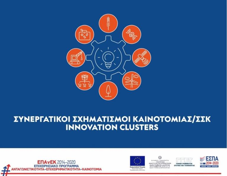 "Innovation Clusters - 2nd call ""Businesses"""