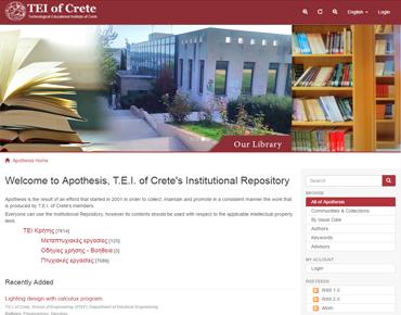 Apothesis - TEI Crete