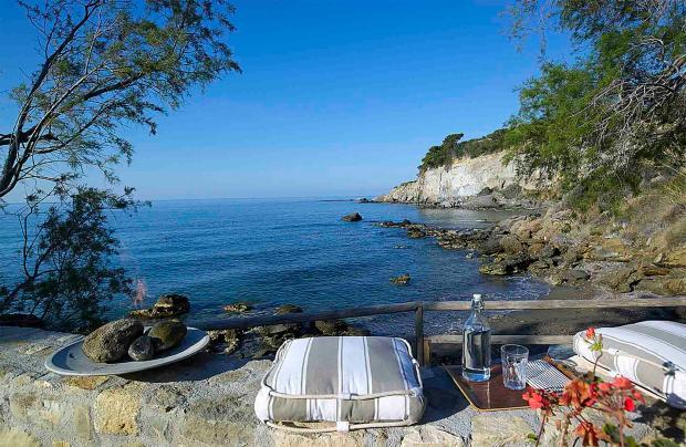 Beachfront Villa Kali Skia