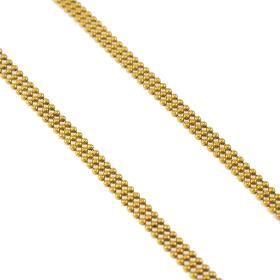 Αλυσίδα  με μπιλίτσες σε χρυσό 14 ΚΤ.