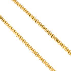 Αλυσίδα τετραγωνισμένη σε χρυσό 14 ΚΤ.