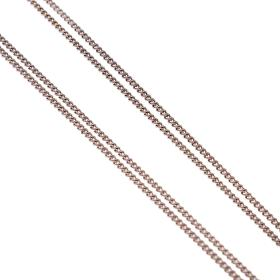 Chain two for one white gold 14kt.