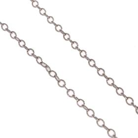 Chain white gold 14kt.