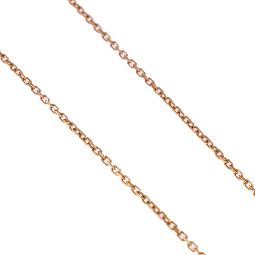 Αλυσίδα ροζ χρυσό14KT.