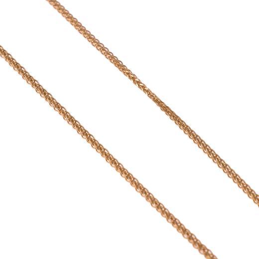 Αλυσίδα σπίγγα τετράγωνη χρυσό14KT.