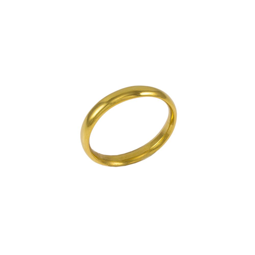Βέρα Classic σε κίτρινο χρυσό 14ΚΤ.    BE001994