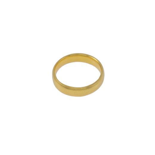 Βέρα σε κίτρινο ματ χρυσό 14ΚΤ.