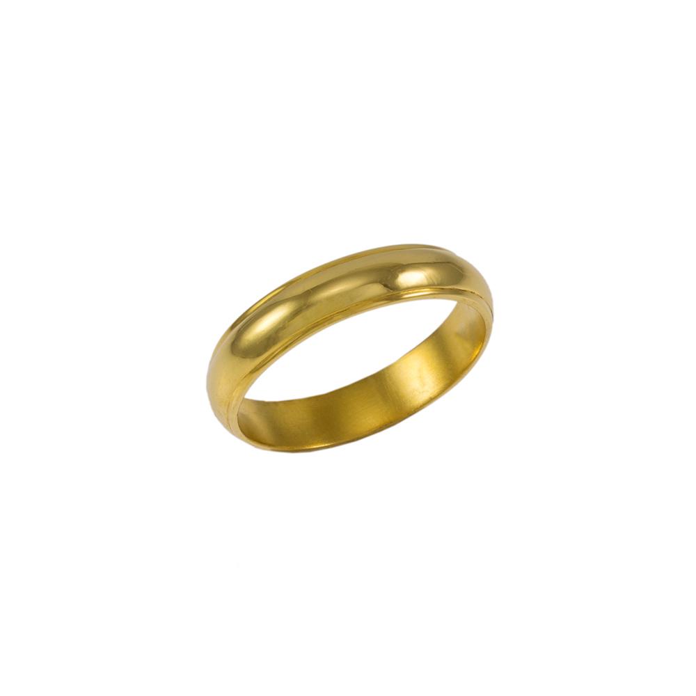 Βέρα σε κίτρινο χρυσό 14ΚΤ .