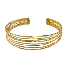 """Βραχιόλι """"LINES"""" σε κίτρινο χρυσό 14ΚΤ"""