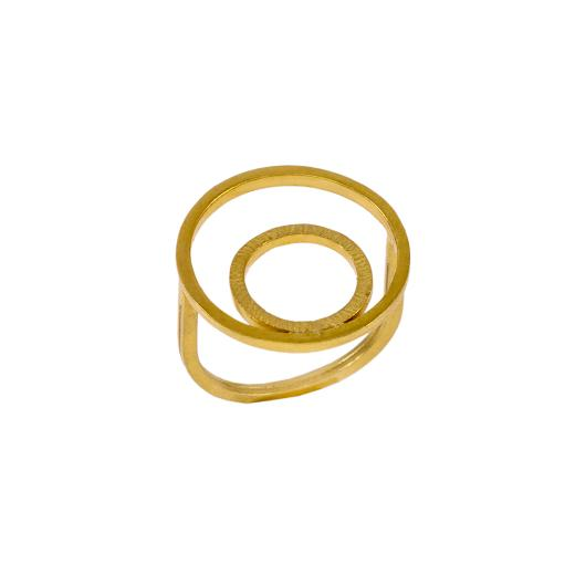 """Δακτυλίδι """"CYCLES"""" σε κίτρινο χρυσό 14ΚΤ ."""