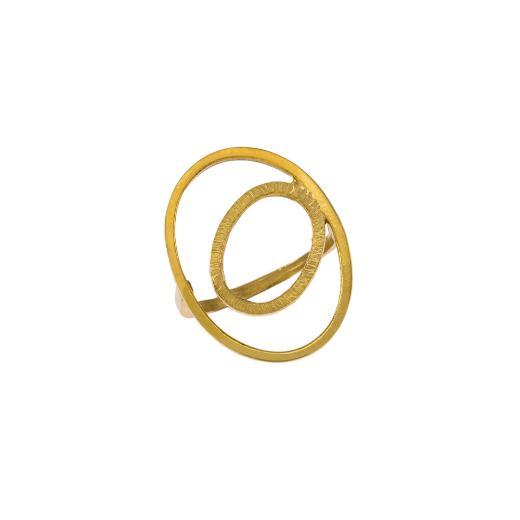 """Δακτυλίδι """"CYCLE"""" σε κίτρινο χρυσό 14ΚΤ."""