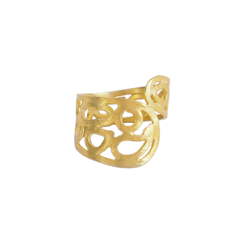 """Ring  """"GEOMETRIC SHAPE """"   in silver plated"""