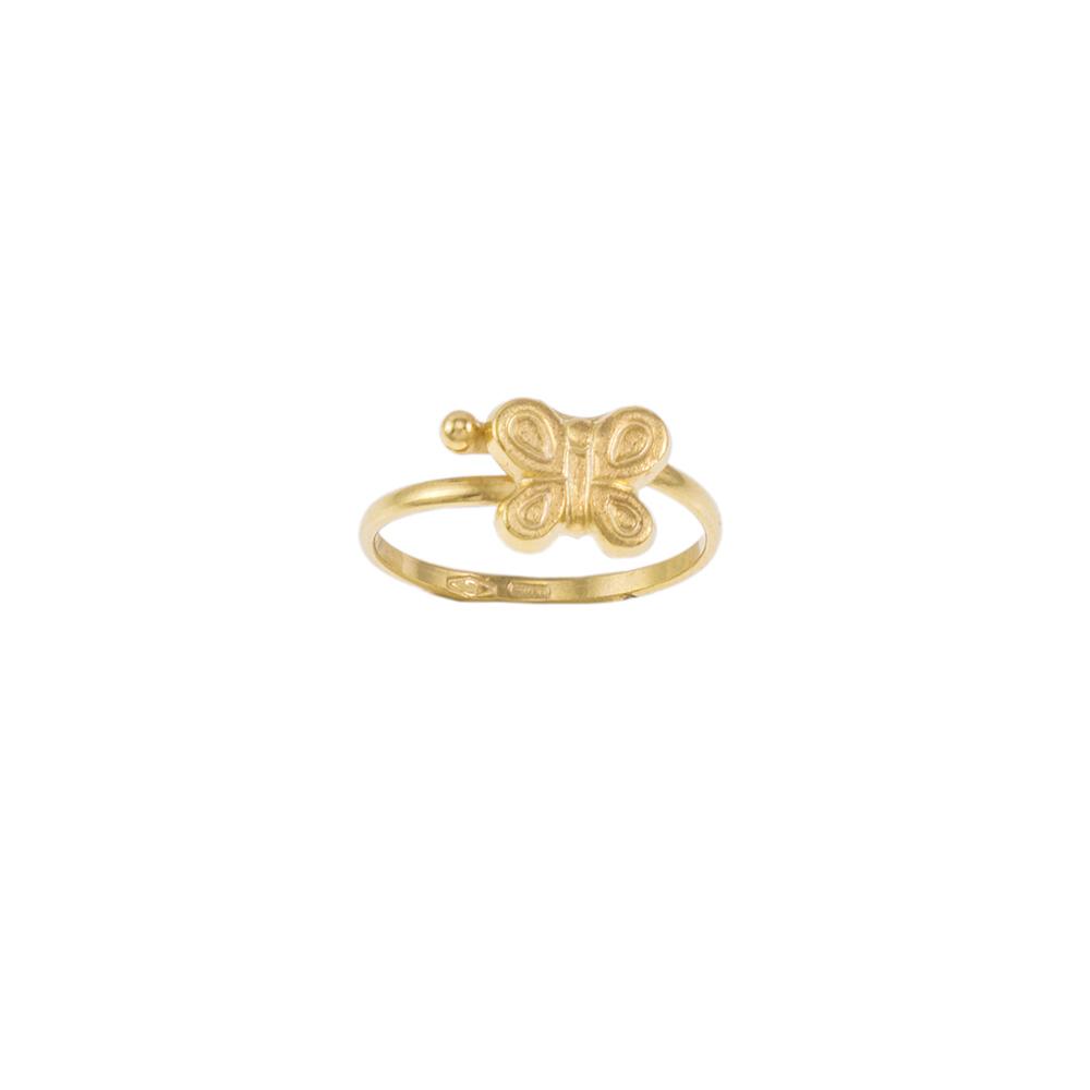 Δακτυλίδι σε κίτρινο χρυσό 14ΚΤ .   DA000950