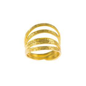 Δακτυλίδι σε κίτρινο χρυσό 14ΚΤ .    DA003461