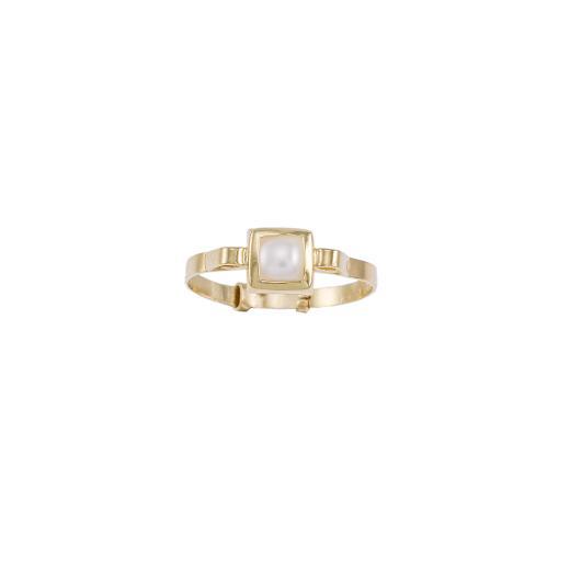 Δακτυλίδι σε κίτρινο χρυσό 14ΚΤ .  DA00944